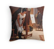 The Unwelcome Visitor Throw Pillow