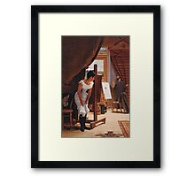 The Unwelcome Visitor Framed Print