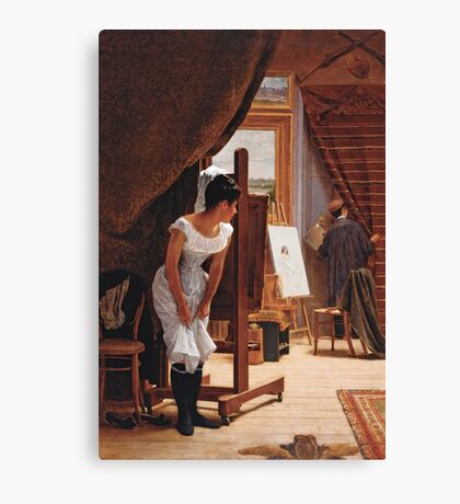 The Unwelcome Visitor Canvas Print