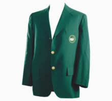 The Masters Golf Green Jacket Baby Tee