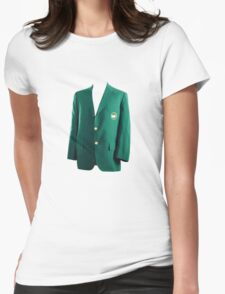 The Masters Golf Green Jacket Womens Fitted T-Shirt