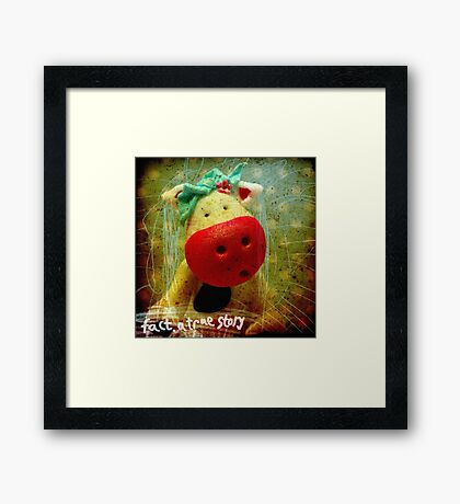 Plushes and monsters #3 Framed Print