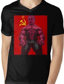 VLADIMIR PUTIN on steroids Mens V-Neck T-Shirt