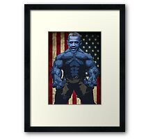 USA OBAMA Framed Print