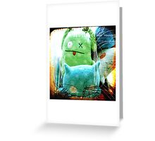 plushes and monsters #3 Greeting Card