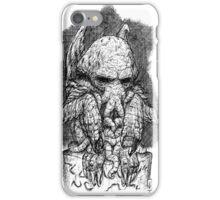 CTHULHU´S SCULPTURE iPhone Case/Skin
