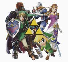 Legend Of Zelda Characters Kids Clothes