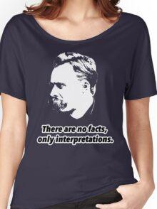 Friedrich Nietzsche Quote 1 Women's Relaxed Fit T-Shirt