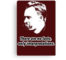 Friedrich Nietzsche Quote 1 Canvas Print