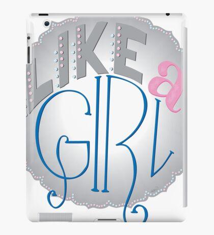 Like a Girl iPad Case/Skin