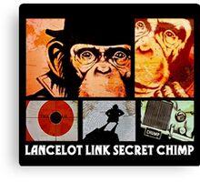 Lancelot Link: Secret Chimp Canvas Print