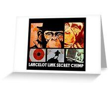 Lancelot Link: Secret Chimp Greeting Card