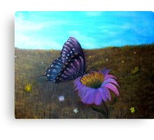 A Butterfly's World Canvas Print