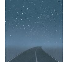 Jack Kerouac - On the Road by RedHillPrints