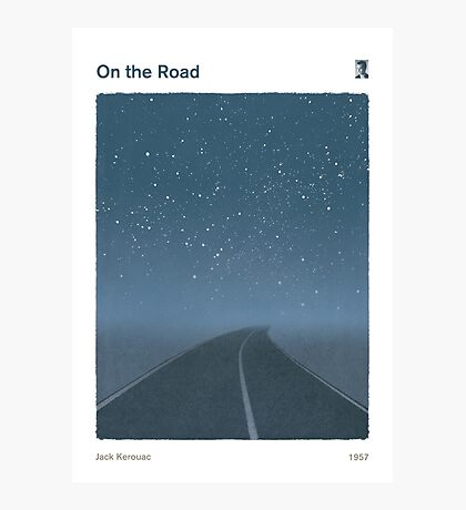 Jack Kerouac - On the Road Photographic Print