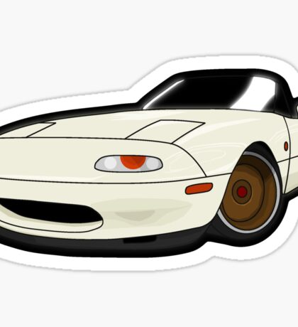 Convertible japan car Sticker