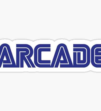 Arcade SEGA-ish (borderless) Sticker