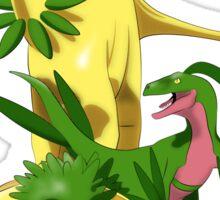 Pokesaurs - Grassiosaurs Sticker
