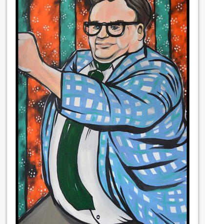 Chris Farley SNL Sticker