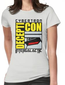 Decepti-con Womens Fitted T-Shirt
