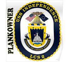 LCS-2 Independence Plankowner Poster