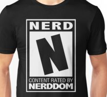 Rated N for Nerd (White) Unisex T-Shirt