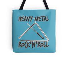 Heavy Metal Rock & Roll Tote Bag