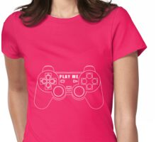 Video game - Play Me PS3 White Womens Fitted T-Shirt