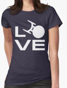 Love Trek Womens Fitted T-Shirt