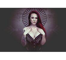 dark queen Photographic Print