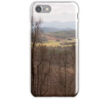Colorful Valley View - Blue Ridge Parkway iPhone Case/Skin