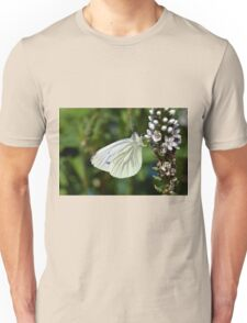 Green Veined White Butterfly - Pieris napi Unisex T-Shirt