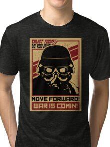 TROOP - WAR IS COMING Tri-blend T-Shirt