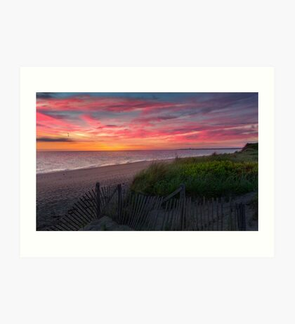 Herring Cove Beach Sunset Art Print