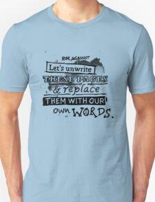 Rise Against - Swing life away. T-Shirt