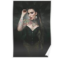 leopard queen Poster