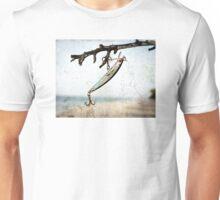 Fishing Lure Art - Caught - Sharon Cummings Unisex T-Shirt