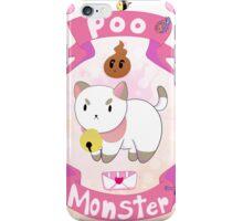 Poo Monster iPhone Case/Skin