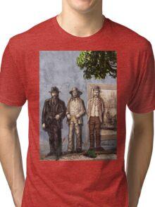 Wall History Tri-blend T-Shirt