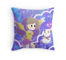 Bee and Puppycat Throw Pillow