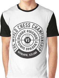 THE WORLD CHESS CHAMPIONSHIP 1972 Graphic T-Shirt