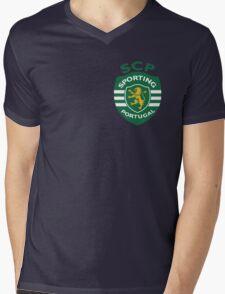 SCP Logo Mens V-Neck T-Shirt