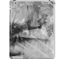 Grapes in a glasshouse iPad Case/Skin