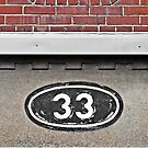 The Number 33  by Ethna Gillespie