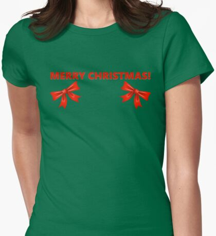 Have a Very Naughty Christmas! Womens Fitted T-Shirt