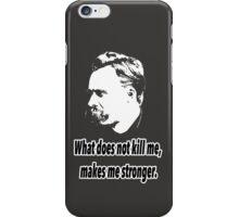 Friedrich Nietzsche quote 4 iPhone Case/Skin