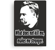 Friedrich Nietzsche quote 4 Canvas Print