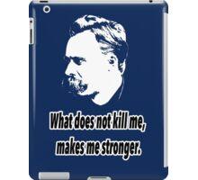 Friedrich Nietzsche quote 4 iPad Case/Skin