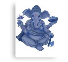 Blue Ganesh Canvas Print