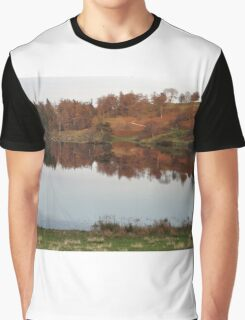 Tarn Hows - Autumn Colours Graphic T-Shirt